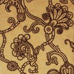 MULBERRY MARQUISE DAMASK FLOCK WALLPAPER
