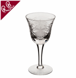 ROYAL BRIERLEY FUCHSIA LARGE WINE GLASS