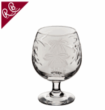 ROYAL BRIERLEY FUCHSIA BRANDY GLASS