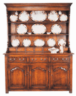 WELSH DRESSER AND RACK