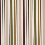 BAKER LIFESTYLE WEST GREEN STRIPE FABRIC