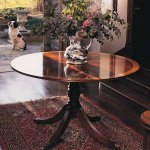 HANDMADE CIRCULAR ENTRANCE TABLE