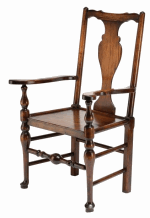 BODGER CHIPPENDALE SOLID SPLAT CHAIR