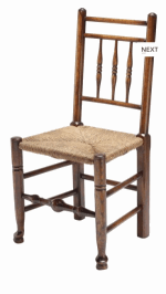 HANDMADE DALES SPINDLE BACK CHAIR