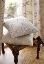 Anna French Aria Durham Dot Woven Fabric