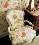 Thibaut Tea House Chinoiserie Floral Wallpaper