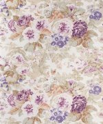 Bennison Faded Floral Fabric