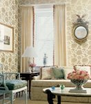 Thibaut Tea House Harmony Damask Wallpaper