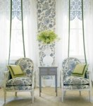 Thibaut Fairfax Jacobean Trail Fabric