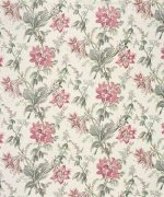Bennison Orchid Lily Fabric
