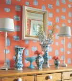 Thibaut Stripe Resource Vol III Sherman Stripe Wallpaper