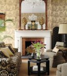 Thibaut Tea House Tea House Damask Wallpaper